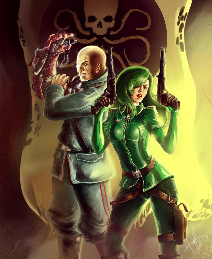 Baron Von Strucker & Madame Hydra - Jake Robert Jacinto