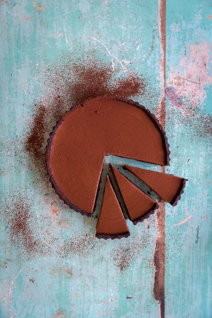 Chocolate Mousse Tart - The Backyard Cook