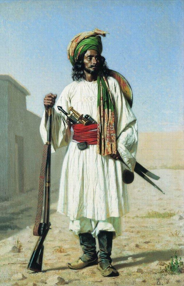 Василий Верещагин - Афганец (1867-1868)