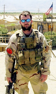 Lt. Michael Patrick Murphy, died in Operation Red Wings....US Navy SEAL -- a true hero