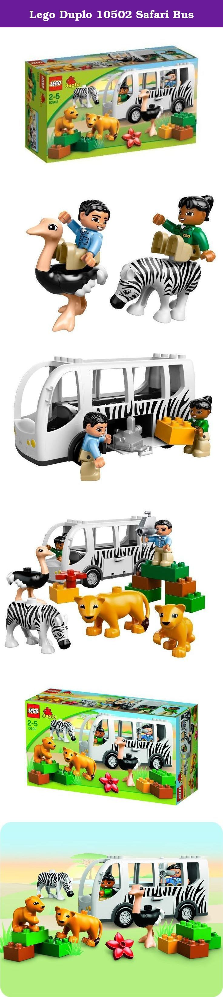 Lego Duplo 10502 Safari Bus. LEGO Duplo 10502 Zoo Bus Safari Animals Ostrich Zebra Lioness Lion New In Box Brand New In Box. All of our items are officially distributed by LEGO Korea. 100% Authentic Guaranteed.