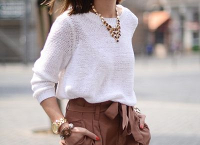 White Summer Sweaters in Every Style via @PureWow via @PureWow