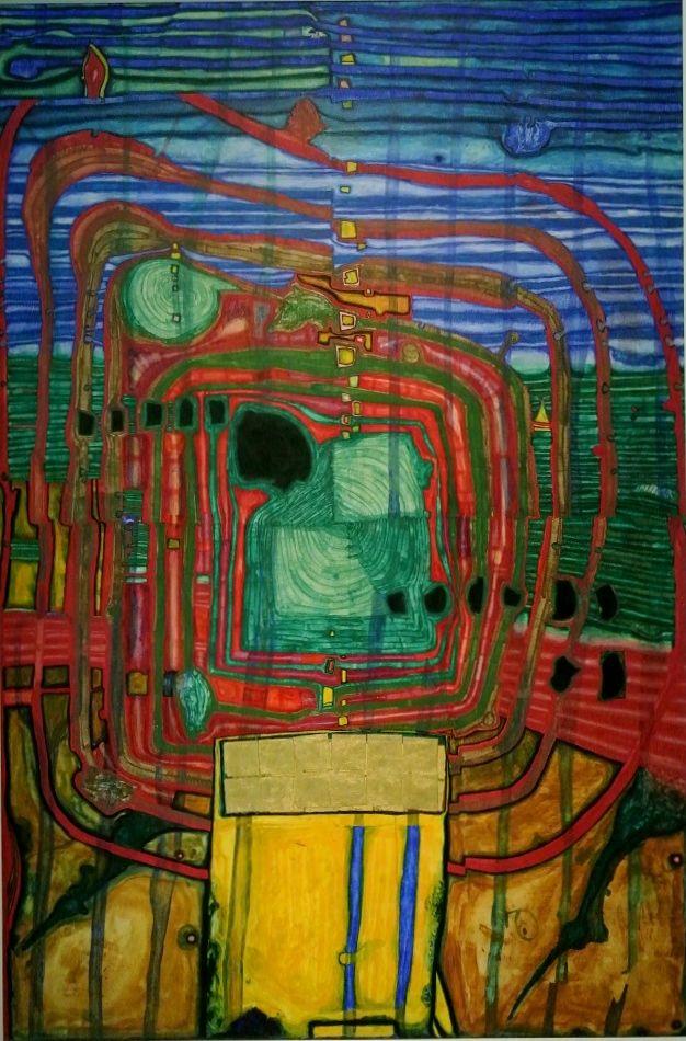 Hommage au Tachisme, 1961, Friedensreich Hundertwasser