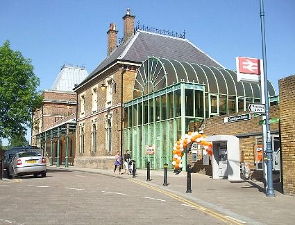 Crystal Palace Railway Station (CYP) in London, Greater London