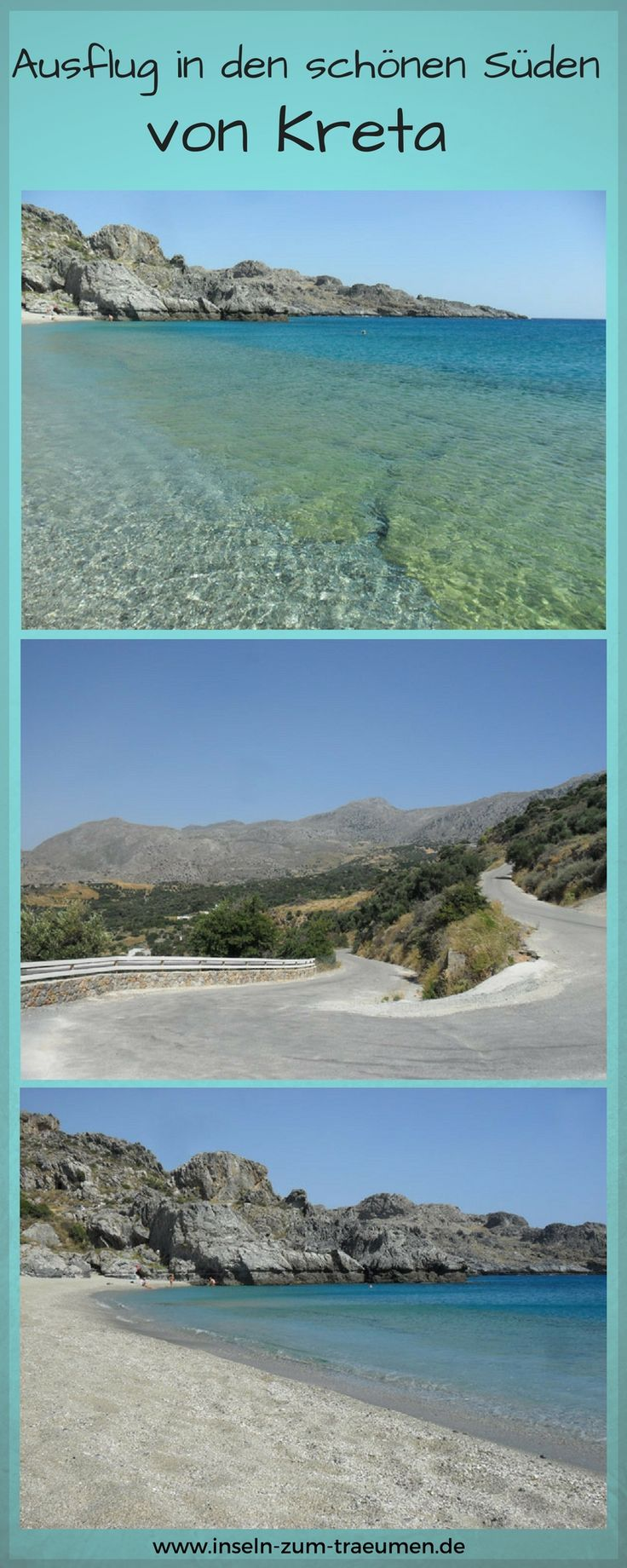 Ausflug in den schönen Süden, Insel Kreta, Damnoni Bay, Griechenland, Greece