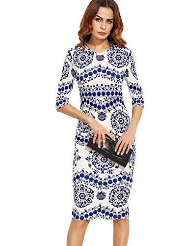 New Trending Formal Dresses: Floerns Womens Porcelain Print Pencil Dress Small Blue. Floerns Women's Porcelain Print Pencil Dress Small Blue  Special Offer: $13.99  244 Reviews Size Chart: Black X-Small:Shoulder:13.78inch,Bust:30.51inch,Waist Size:24.41-32.28inch,Hip Size:32.28inch,Length:42.13inch,Sleeve Length:8.66inch,Cuff:10.43inch,Bicept Length:11.81inch...