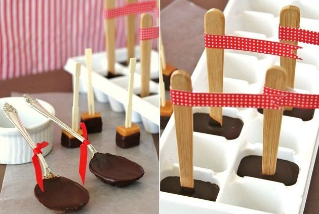 homemade hot chocolate stirrers. I make these every year at Christmas just in case all the goodies are not enough to make sure my sisters' kids are totally sugar crazy and bouncing off the walls..what else would a good Auntie do!!