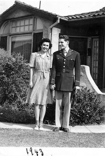 WW2 lovers, 1943 ~