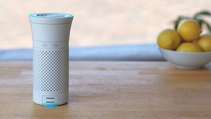Wynd – Un purificateur d'air intelligent et portable