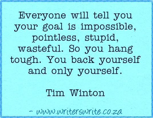 Quotable - Tim Winton - Writers Write Creative Blog