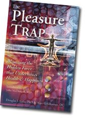 The Pleasure Trap was recommended to me when I took me eCornell plant-based diet certification courses. An interesting read.