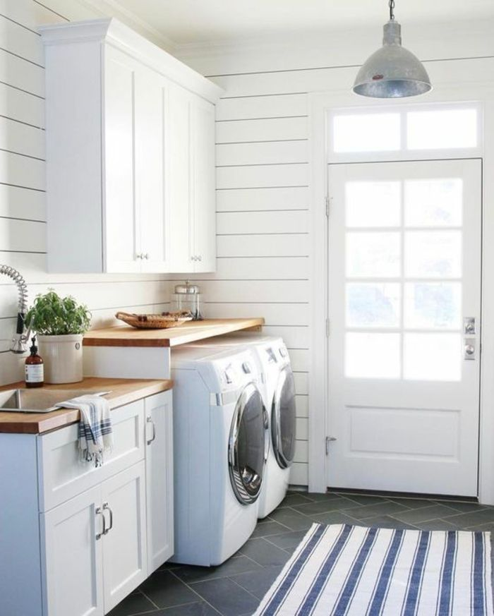 les 368 meilleures images du tableau buanderie rangements sur pinterest buanderies. Black Bedroom Furniture Sets. Home Design Ideas