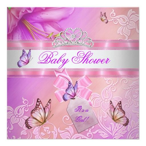 318 best Butterfly Baby Shower Invitations images on Pinterest