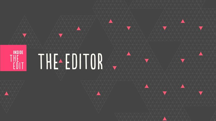 This animated video promo for the Inside the Edit video course does an excellent job of explaining what a film editor does.