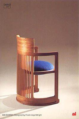 barrel - Frank Lloyd Wright