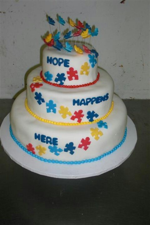 17 Best images about Autism Cakes! on Pinterest Cookie ...