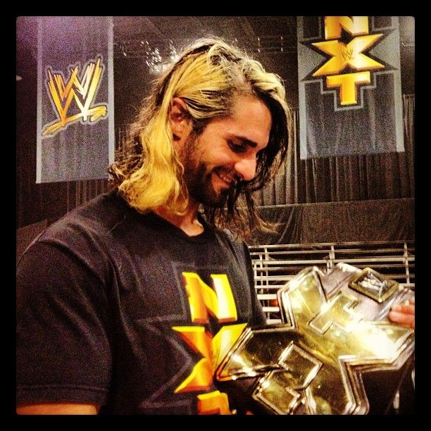 Let not forget who the first NXT champ was .. Seth Rollins