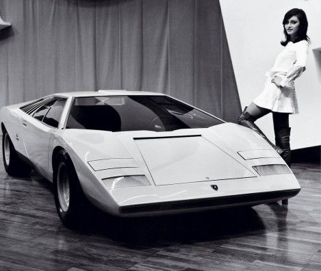 """The wedge™. Marcello Gandini's unmatched """"concord moment"""" in automotive design history – the Countach LP500."""