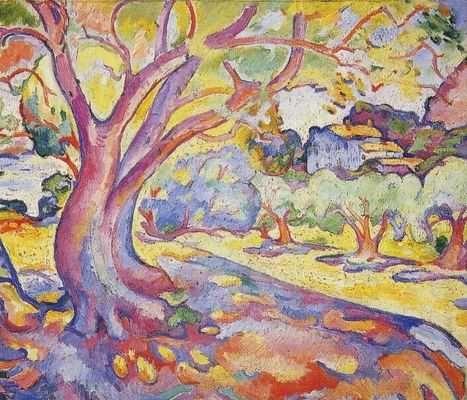 L'olivier, par Georges Braque