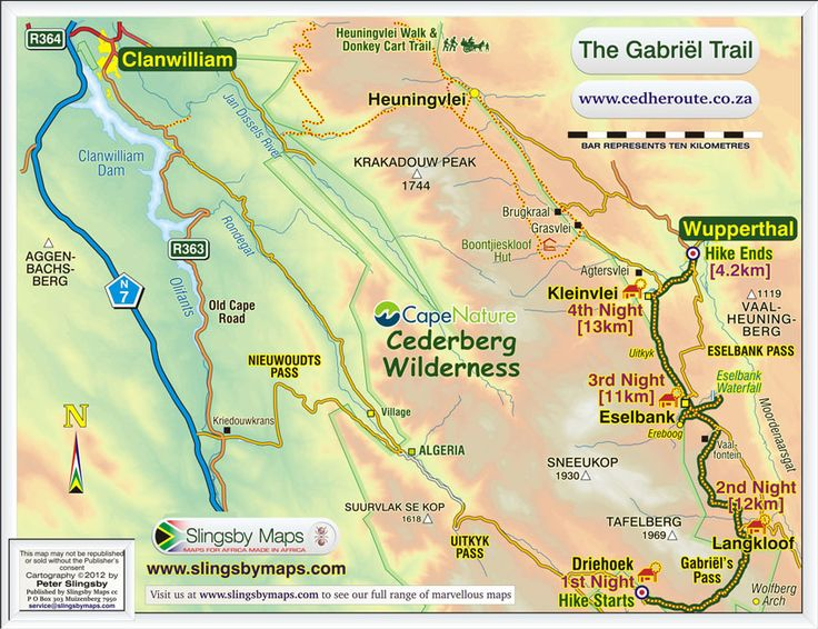"""""""Gabriel Trail - Download large scale from Slingsby Maps."""""""