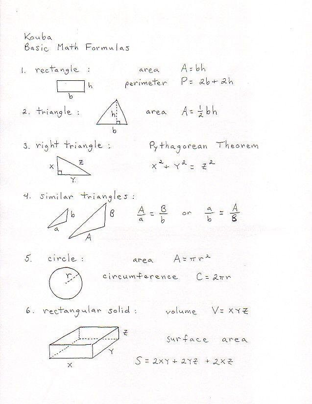 best 25 math formulas ideas on pinterest. Black Bedroom Furniture Sets. Home Design Ideas