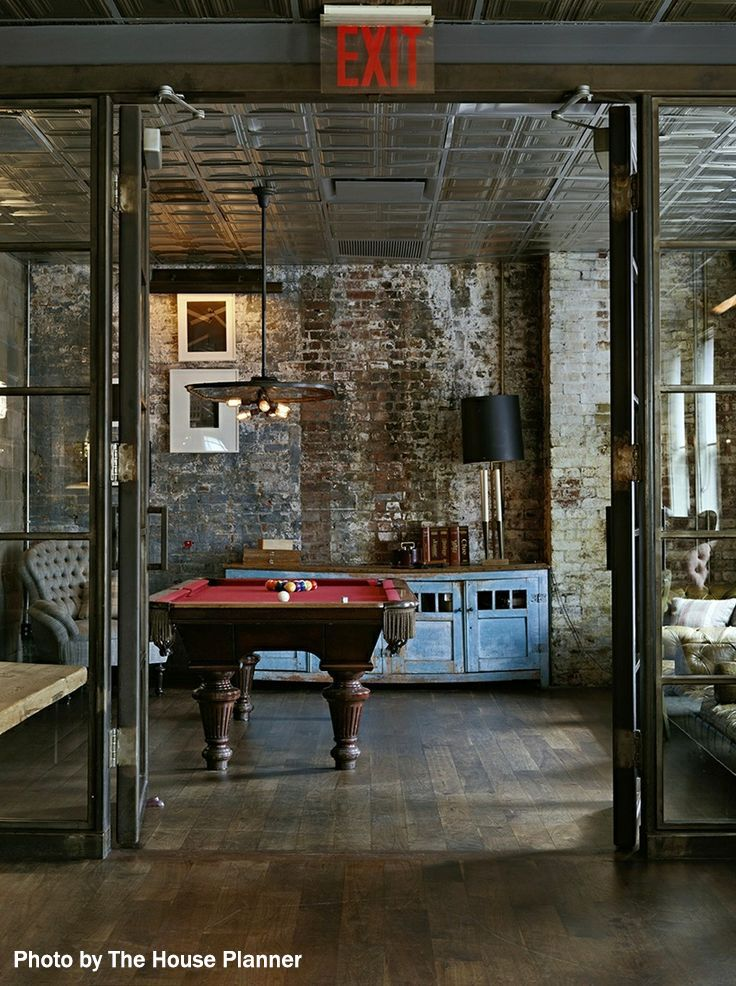 Man Cave Interior Design : Best images about basements on pinterest pool tables