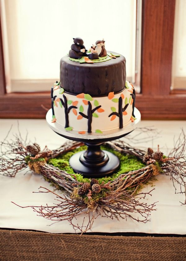 17 Best Images About Woodland Theme Baby Shower On