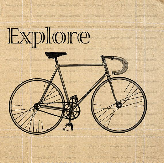 Explore Environmentalist Old Bike Old by SimplyGraphicStore