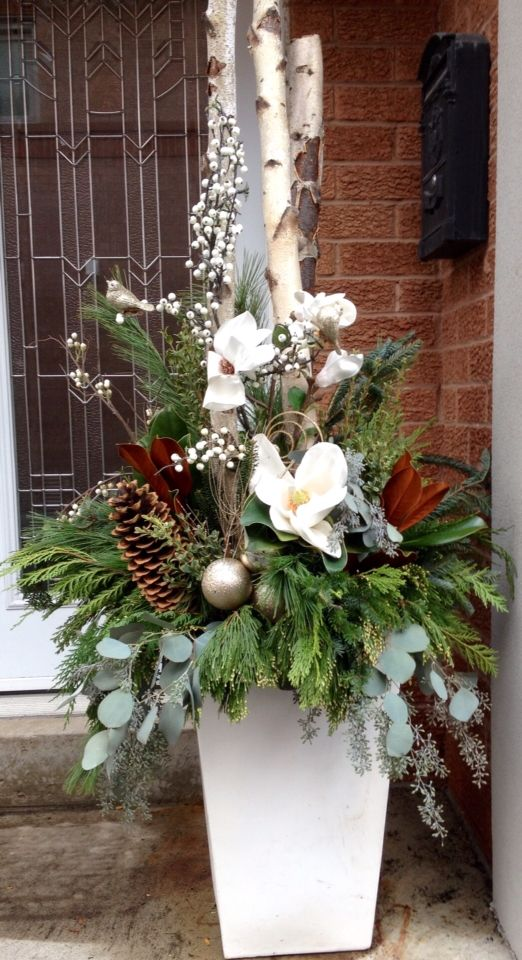 Best 25 Christmas Urns Ideas On Pinterest Outdoor