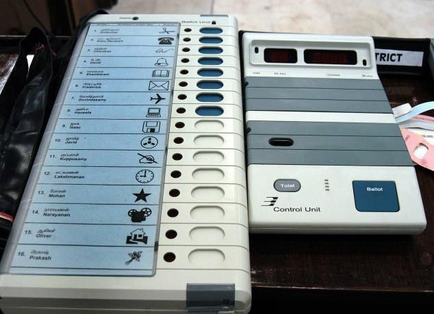 """Electronic Voting Machines (EVMs) procured from other states will be used in the 2017 Punjab Assembly elections, state Election Commission"" All political parties are asked to check for themselves the EVMs in order to clear their doubts about the possibility..."