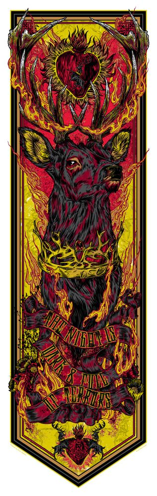 """House """"Stannis"""" Baratheon - The Night is Dark and Full of Terrors."""