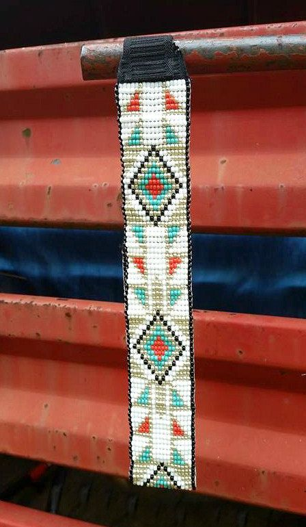 Consider, Native american beaded rosettes strips headbands pity