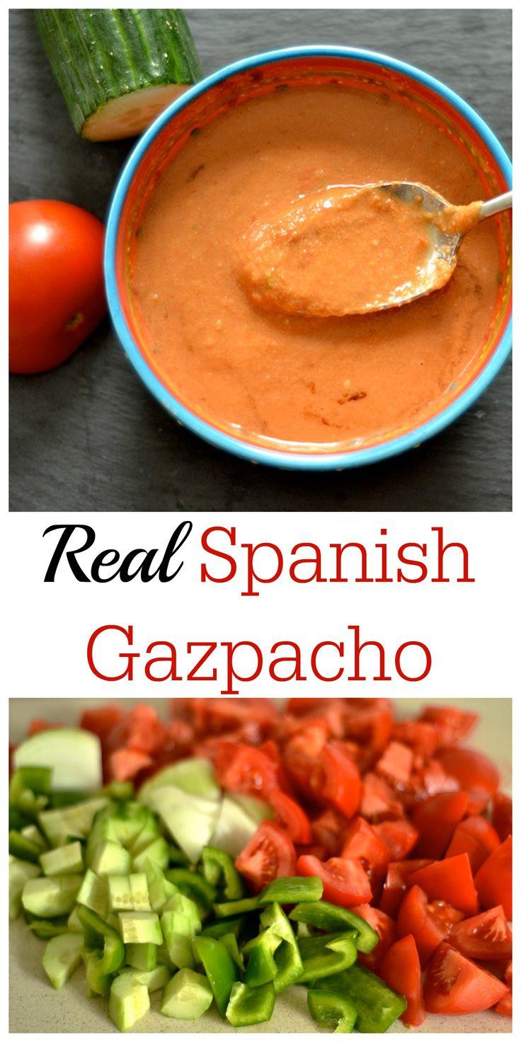 Real Spanish Gazpacho