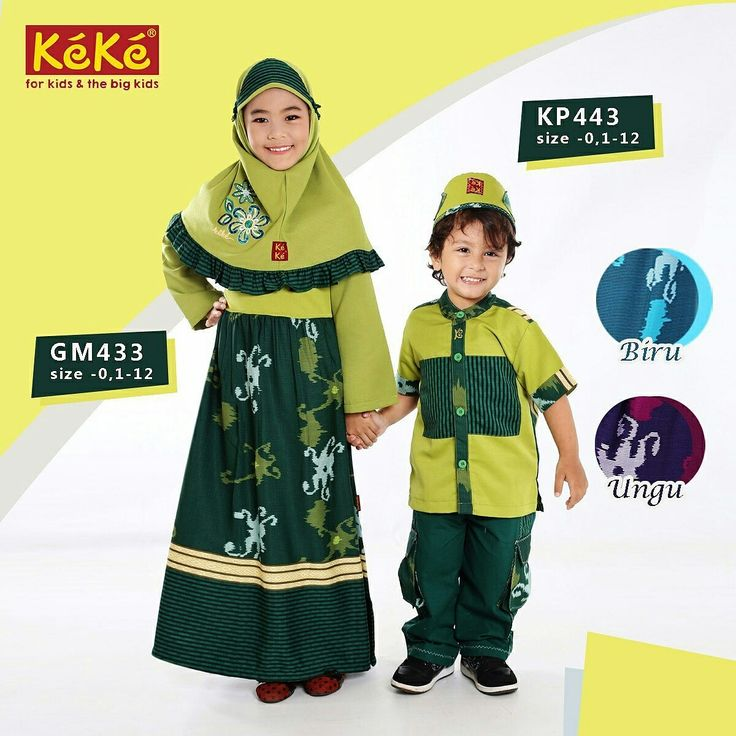 Moslem wear for kids