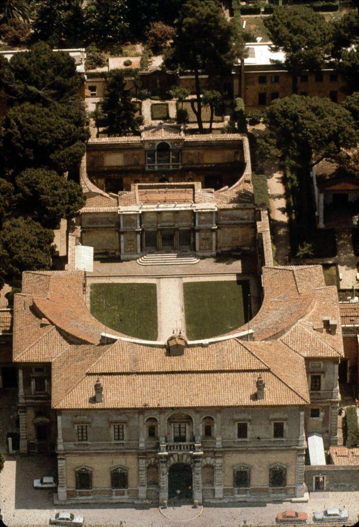 Villa Giulia, Roma / Jacopo Vignola (+ Giorgio Vasari - Bartolomeo Ammannati)