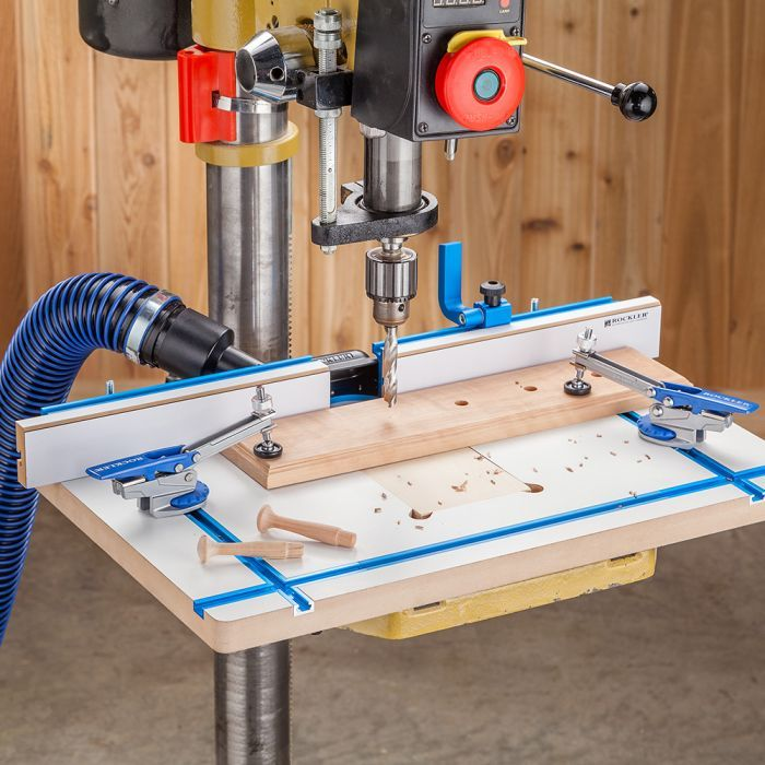 Rockler Drill Press Fence Bohrmaschinentisch Standbohrmaschine