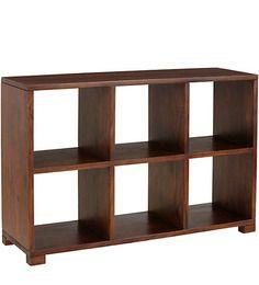 San Pablo Book Shelf in Provincial Teak Finish by Woodsworth