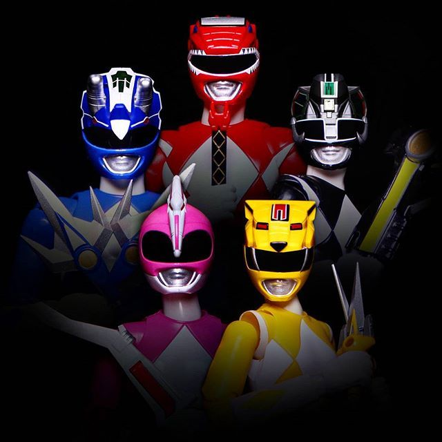 Mighty Morphin Power Rangers - Season 1 Rangers