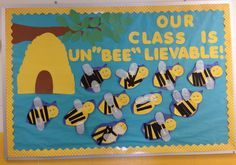 bee bulletin board - Google Search