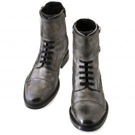 Bruxelles, i nuovi stivali con rialzo GUIDOMAGGI che ti consento di aumentare la statura di 7, 8 o 10 centimetri. Le scarpe rialzate realizzate interamente in Italia con pelle pieno fiore e vero cuio
