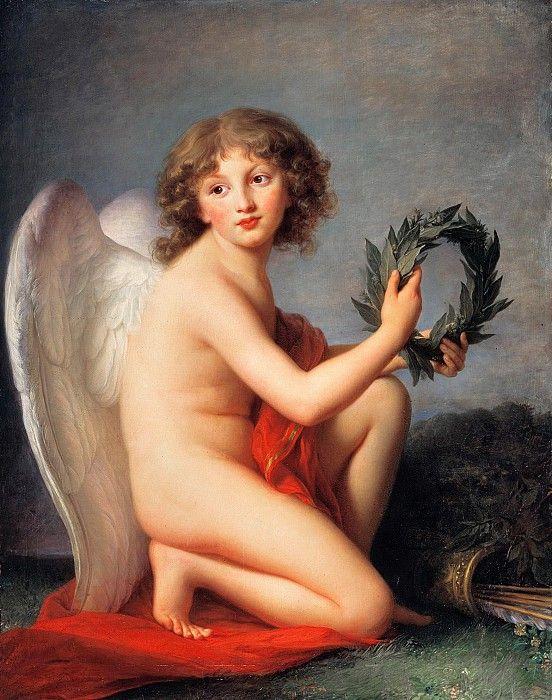 Виже-Лебрен, Элизабет (1755-1842) - Принц Генрих Любомирски в образе гения славы.