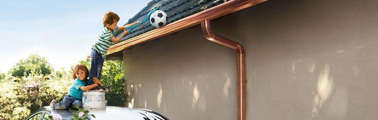 Gouttières en cuivre / Copper gutter #copper, #cuivre, #rame, #kupfer, #cobre