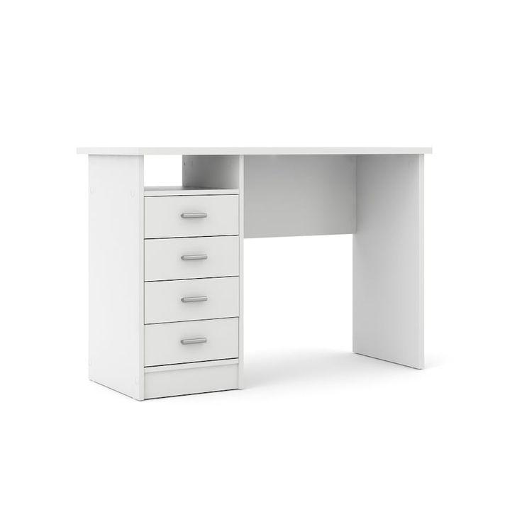 Tvilum Desk With 4 Drawers In 2020 Desk Drawers Office Desk