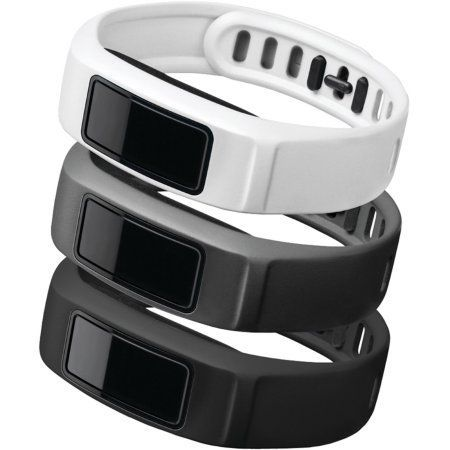Garmin Vivofit 2 Neutral-Themed Bands, 3-Pack, Small, Black