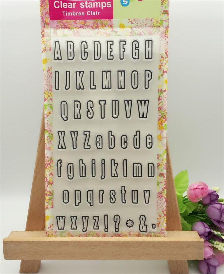 $2.21 (Buy here: https://alitems.com/g/1e8d114494ebda23ff8b16525dc3e8/?i=5&ulp=https%3A%2F%2Fwww.aliexpress.com%2Fitem%2F26A-Z-Letters-Symbol-Transparent-Clear-Stamp-DIY-Silicone-Seals-Scrapbooking-Card-Making-Photo-Album-Decorative%2F32769634607.html ) 26A-Z Letters Symbol Transparent Clear Stamp DIY Silicone Seals Scrapbooking/Card Making/Photo Album Decorative Accessories for just $2.21