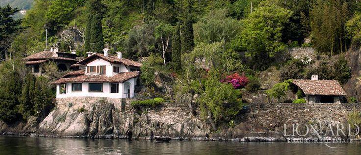 Como Gölü kenarında rüya ev Image 1
