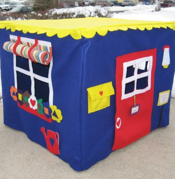 Neighborhood Cafe Card Table Playhouse,