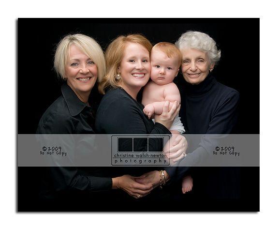 4 generation portraits - Google Search