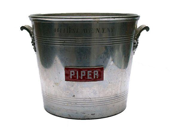 PIPER MARILYN MONROE champagne bucket Large size wine bottle