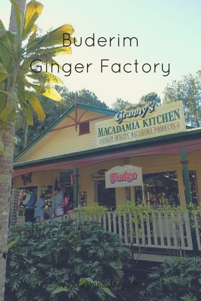 The Ginger at the Buderim Ginger Factory, Australia | Hayley on Holiday